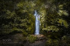 Sierra de Juarez Waterfall by LuisLyons