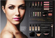 Excelente linea de maquillaje exclusiva con tratamiento de belleza