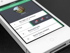 MD Feed by Lucia Kubinska. 25 Stunning #Mobile #UI Examples