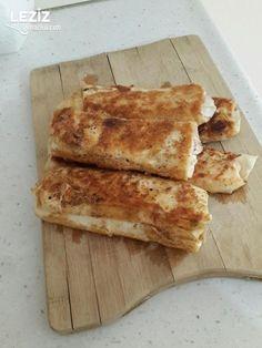 Nefis Pizza Börek Tarifi Pizza, Food And Drink, Bread, Cooking, Nutella, Kochen, Breads, Brewing, Sandwich Loaf