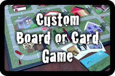 Create your own board games!