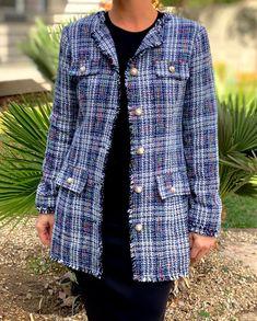 Shop this look at www.shannasthreads.com #modestfashion  #fallfashion  #tweedblazer