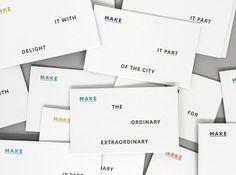 Ortolan : Projects : Branding + Identity : MAKE Architecture
