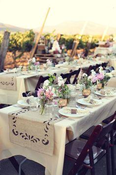 Vintage Style Wedding At Vineyard