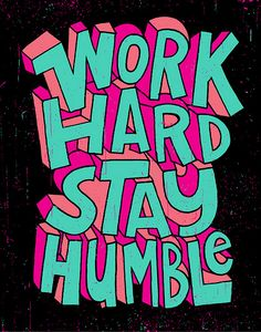 Work Hard Wednesdays? #inspiration