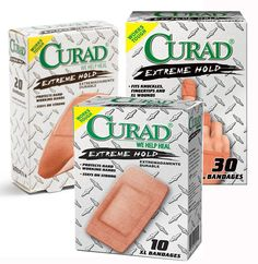 FREE Curad Bandage Samples - http://www.guide2free.com/home-and-garden/free-curad-bandage-samples/