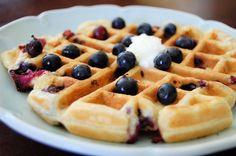 Waffles: receitas para a sua máquina.