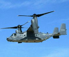 Bell /Boeing V-22 Osprey i- American multi-mission, tiltrotor military aircraft with both a vertical takeoff and landing (VTOL), and short takeoff and landing (STOL) capability.