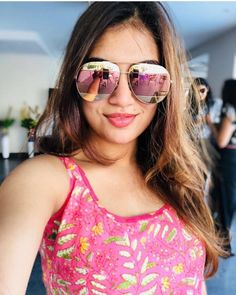 Tamil Actress Photos, Indian Film Actress, Indian Actresses, South Actress, South Indian Actress, Friend Poses Photography, Amazing Photography, Mirrored Sunglasses, Sunglasses Women