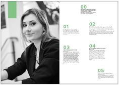 Olga at Lewis Interview, Editorial, Typography, Student, Graphic Design, Letterpress, College Students