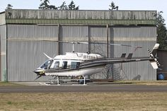 Airspan Helicopters Ltd C-FBKS Bell 206L 45033 XQU Qualicum Beach Airport 2012