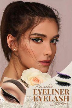 Metallic Eyeshadow, Glitter Eyeliner, Winged Eyeliner, Long Lashes, Eyelashes, Perfect Cat Eye, Cat Eye Makeup, Sweat Proof, Healthy Beauty