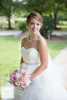 A beautiful Hawkesdene bride.