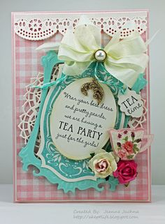 New bridal shower tea party gifts recipe cards Ideas High Tea Invitations, Invitation Ideas, Invitation Wording, Invitation Templates, Shower Invitations, Birthday Invitations, Victorian Tea Party, Tea Party Decorations, Afternoon Tea Parties