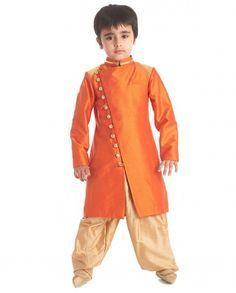 baby clothing - Compare Price Before You Buy Baby Boy Dress, Baby Boy Outfits, Kids Outfits, Sherwani For Boys, Kids Kurta, Boys Kurta Design, Kids Wear Boys, Gents Kurta, Kids Ethnic Wear