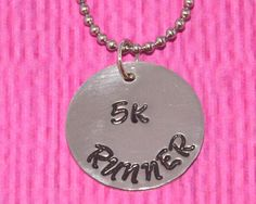 Runner Gifts | 5K | Cross Country | Runner Necklace | Marathon Jewelry | Running Shoe Charm Necklace | Gifts for Runners | 5k runner | 10K by charmedbykobe on Etsy