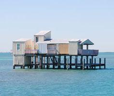 Stiltsville - Biscayne Bay, Florida