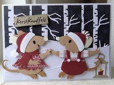 Scrapcard girls: 52 weeks to Christmas week 25 Company Christmas Cards, Christmas Cards 2018, Christmas Tag, Handmade Christmas, Holiday Cards, Christmas Crafts, Christmas Girls, Marianne Design Cards, Embossed Cards