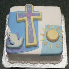 Communion Cakes For Boys Boy Communion Cake, First Communion Party, First Holy Communion, Fondant Cakes, Cupcake Cakes, Baby Cakes, Comunion Cakes, Confirmation Cakes, Baptism Cakes
