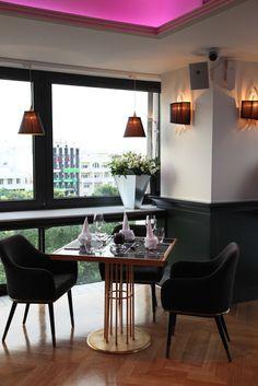 Bar Restaurant Epicure 5 Larisa Greece #restaurant #bar #mexil Restaurant Bar, Greece, Dining Table, Modern, Furniture, Design, Home Decor, Greece Country, Trendy Tree