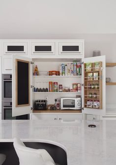 Interesting interior to this pantry Pantry, Liquor Cabinet, Kitchen Cabinets, Storage, Interior, House, Furniture, Ideas, Home Decor