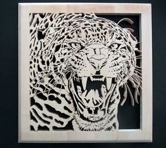 Leopard Roar - Scrappile Scrolling - User Gallery - Scroll Saw Village