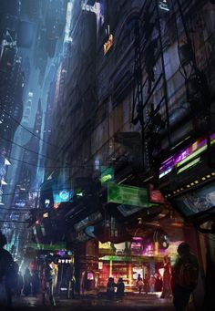 Awesome Film and Video Game Concept Art by Filmpaint Studio - What an ART