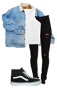 """Untitled #5"" by ayepaigee on Polyvore featuring Vans"