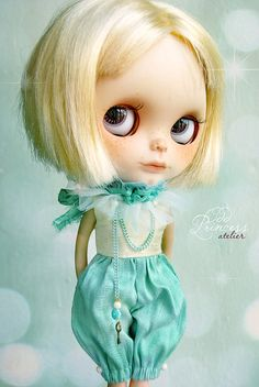 Reserved MINT VANILLA Blythe BLOOMERS By Odd Princess Atelier, Top And Bloomers, Victorian, Special Occasion Outfit