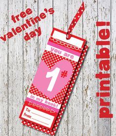 Free Valentine's Class Printables, Free Valentine's Bookmarks, Kids Class Valentines free, Free Printable Valentines, Cure kids Valentines by TheWrightInvite on Etsy https://www.etsy.com/listing/220393769/free-valentines-class-printables-free