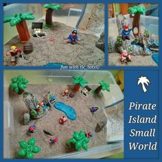 Pirate Island Small World Play