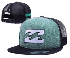 459ff941346 Men s Quiksilver Special Wave Logo Mesh Back Summer Fashion Trucker  Snapback Hat - Green   Black