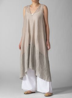 Linen Knit Long Tunic - I love it