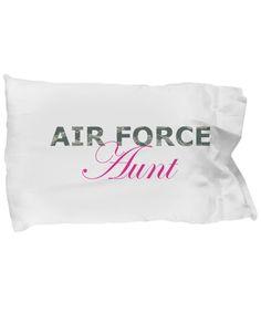 Air Force Aunt - Pillow Case