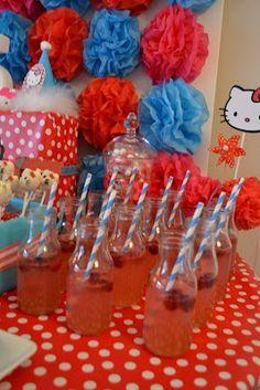 Adoption Creates Families: Hello Kitty 5th Birthday Party...LOTS of photos...