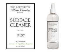 "The Laundress Oberflächenreiniger ""Surface Cleaner"" - Bedandroom Non Plus Ultra, Clean House, Biodegradable Products, Surface, Soap, Cleaning, Bottle, Dusters, Glass Cleaners"