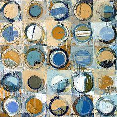 Jylian Gustlin-Abstract Painting-Fibonacci
