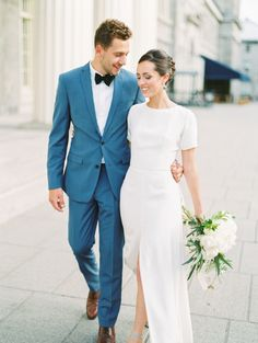 Modern Meets Classic With This French Inspired Elopement – Style Me Pretty