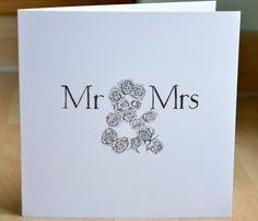 Personalised Wedding/Valentines Greeting Card