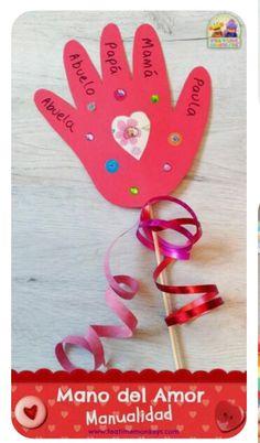 Saint Valentine, Valentine Theme, Valentine Crafts For Kids, Love Valentines, Valentine Decorations, Summer Crafts, Diy Crafts For Kids, Valentine Gifts, Valentine Ideas