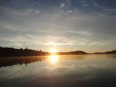 Brocket Lake, Lake of the Woods, Laketrails, morning paddle, sunrise