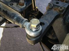 131 1306 02+steering You Straight Heim Joints Vs Tie Rod Ends+heim Bolt