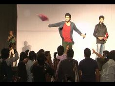 Arjun Kapoor and Sonakshi Sinha promote TEVAR at IIT Bombay's Festival.