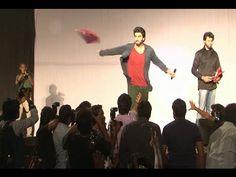 Arjun Kapoor and Sonakshi Sinha promote TEVAR at IIT Bombay's Festival.