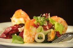 salada requinte (camarão e endívia)