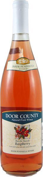Razzle Dazzle Raspberry Wine - Door Peninsula
