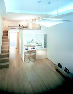 35+ Tiny Apartment with Loft Space Inspirations