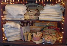 Fine vintage French linens