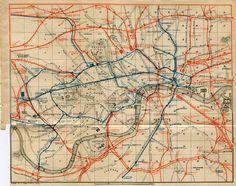 Items similar to Vintage Railway Map of London 1905 City Map, England, United Kingdom, UK on Etsy Map Of Britain, London Map, London City, Map Globe, Old Maps, Historical Maps, London Underground, City Maps, Vintage Maps