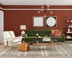 How To Make Velvet Decor Work For Your Style Modern Living Room DesignMid Century